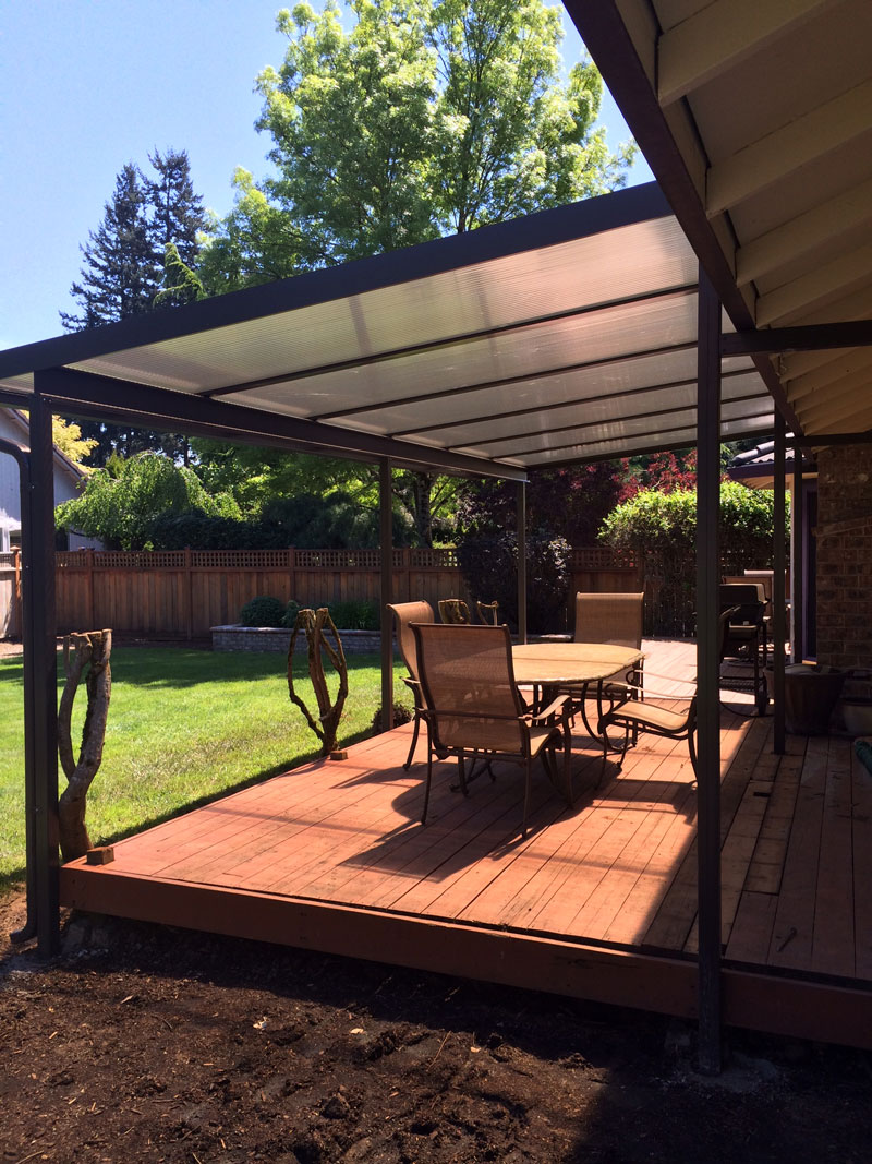 Patio Cover Gallery - Awnings - Deck Covers | Portland OR on Backyard Patio Covers  id=13334