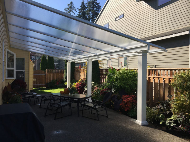 Acrylite Clear Patio Cover and Patio Room Panes