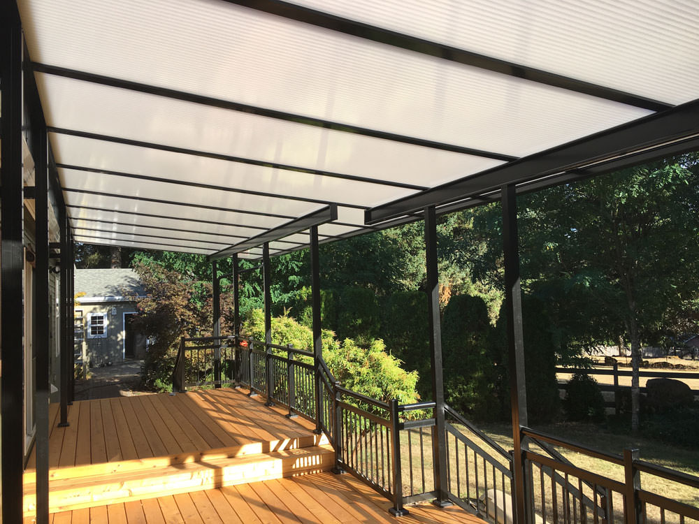 Exceptionnel Cool Blue Acrylic Panels Patio Cover People, LLC