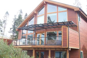 Glass Roof Patio Covers