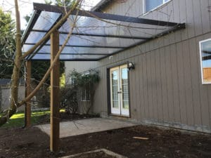 Clear Panel Patio Cover