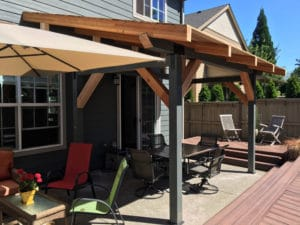 Custom Wood Patio Cover