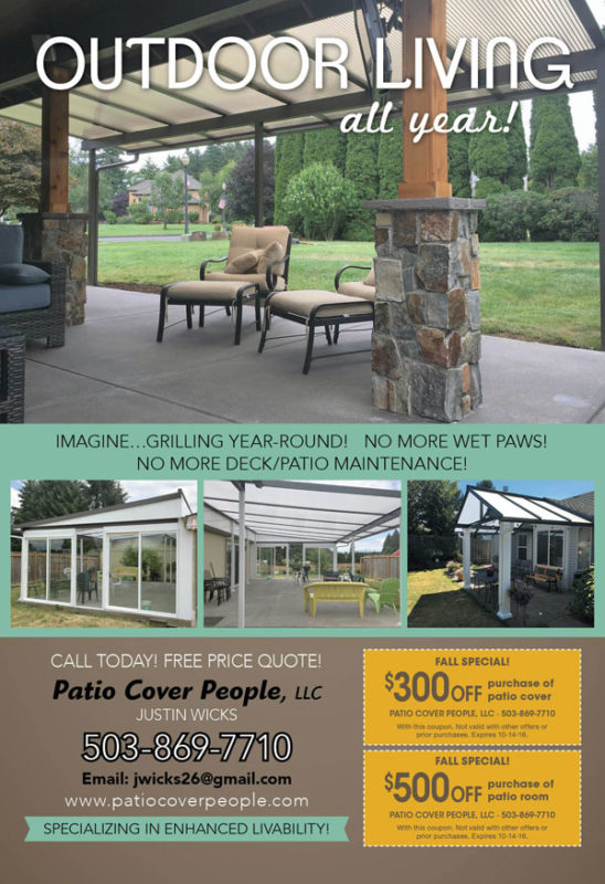 Patio Cover Specials